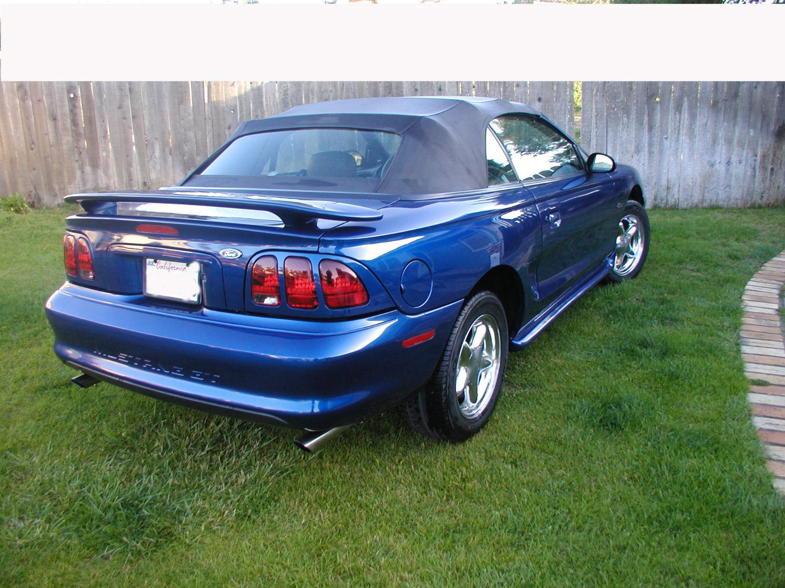 BeauFlex 1996 Ford MustangGT Convertible 2D Specs, Photos