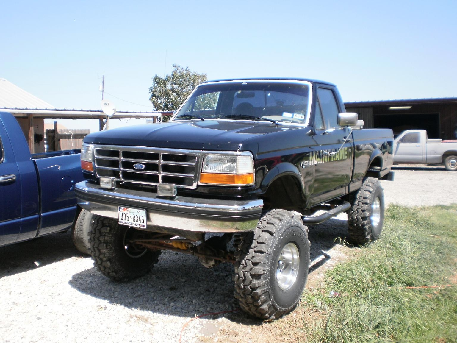 150 Parts 1997 Ford F Salvage