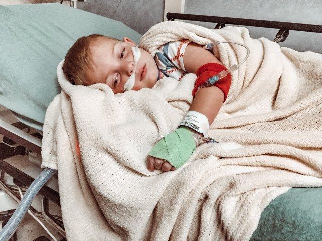 Sick Child Influenza