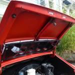 1968 porsche 912 coupe red decklid