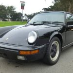 1987 Porsche 911 Targa Black