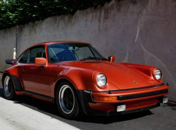 1976 porsche 930 sunroof coupe salmon metallic