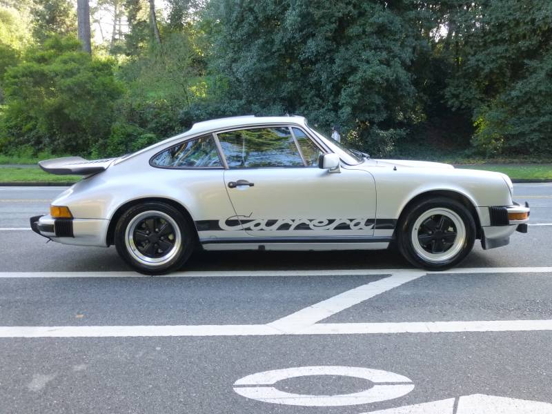 1974 Porsche 911 Euro Carrera RS Clone Silver