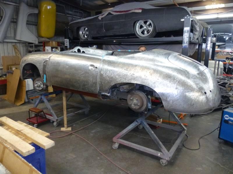 1956 Porsche 356A Speedster Project