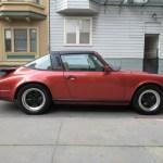 1984 Porsche 911 Targa Kiln Red