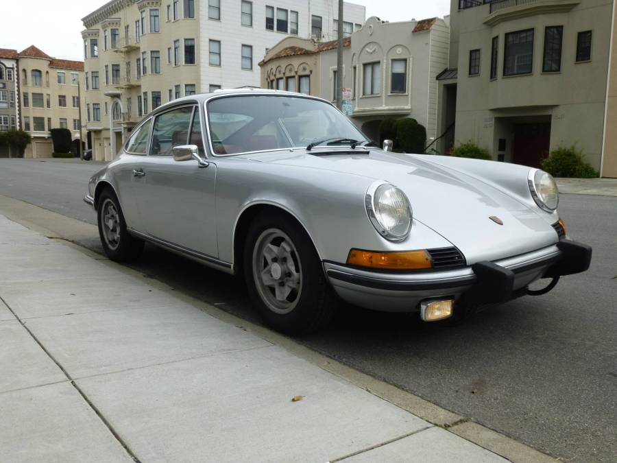 1973 Porsche 911T Sunroof Coupe Silver