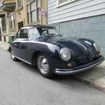 1956 Porsche 356A T1 Coupe Blue