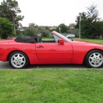 1990 Porsche 944 S2 Cabriolet Guards Red Low Miles