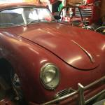 1958 Porsche 356A T2 Coupe Ruby Red