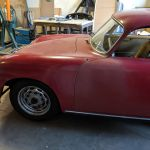 958 Porsche 356A T2 Coupe Ruby Red