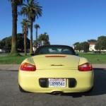 1999 Porsche Boxster Pastel Yellow