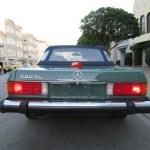 1987 Mercedes Benz 560SL Agate Green