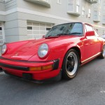 1980 Porsche 911SC Euro Coupe Guards Red
