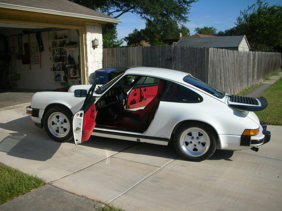 1988 Porsche 911 Carrera Coupe G50 Gran Prix White Lipstick Red