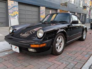 1985 Porsche 911 Coupe Slicktop Black