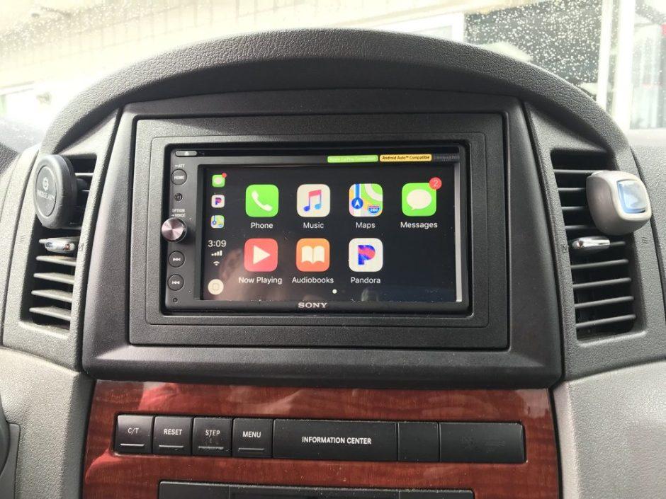 Carplay Installs Sony Xav Ax200 In A 2005 Jeep Grand Cherokee