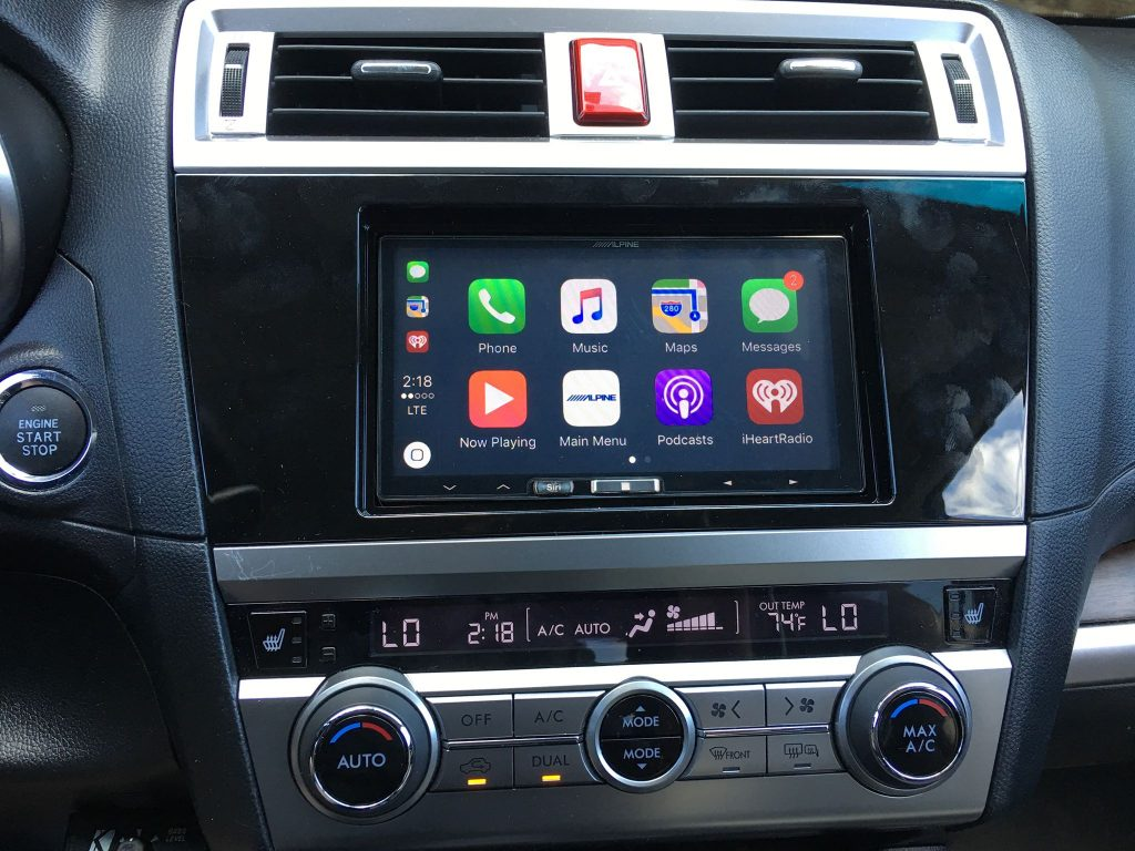 carplay installs alpine ilx 107 in a 2016 subaru outback \u2013 carplay Subaru Car Radios