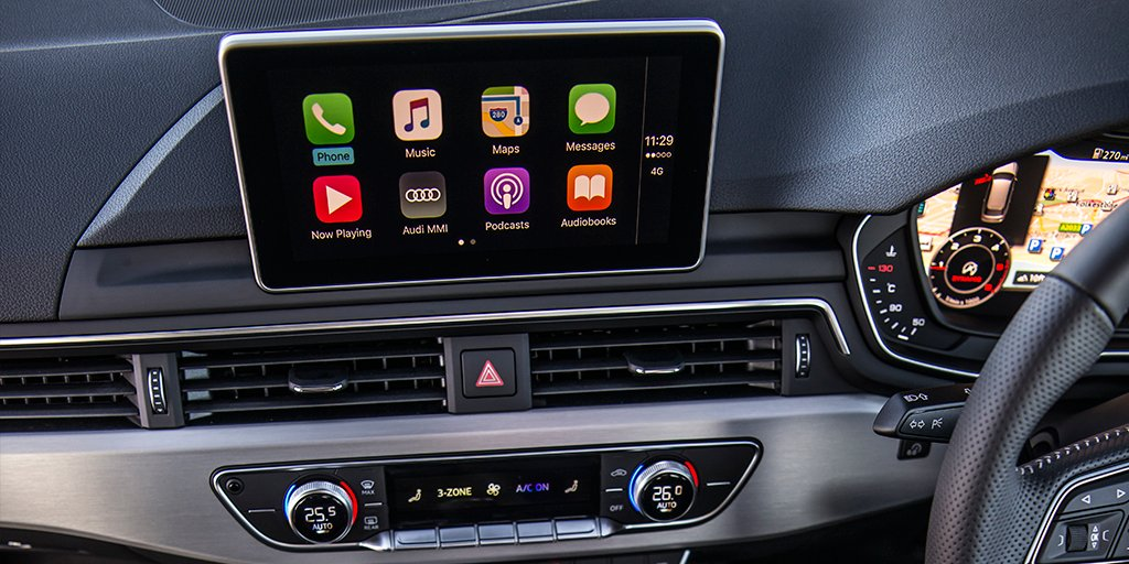 Apple CarPlay Installs: Factory Fitted in a 2017 Audi A4 – CarPlay