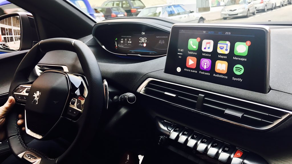 CarPlay Installs: Factory Fitted in a Peugeot 3008 – CarPlay