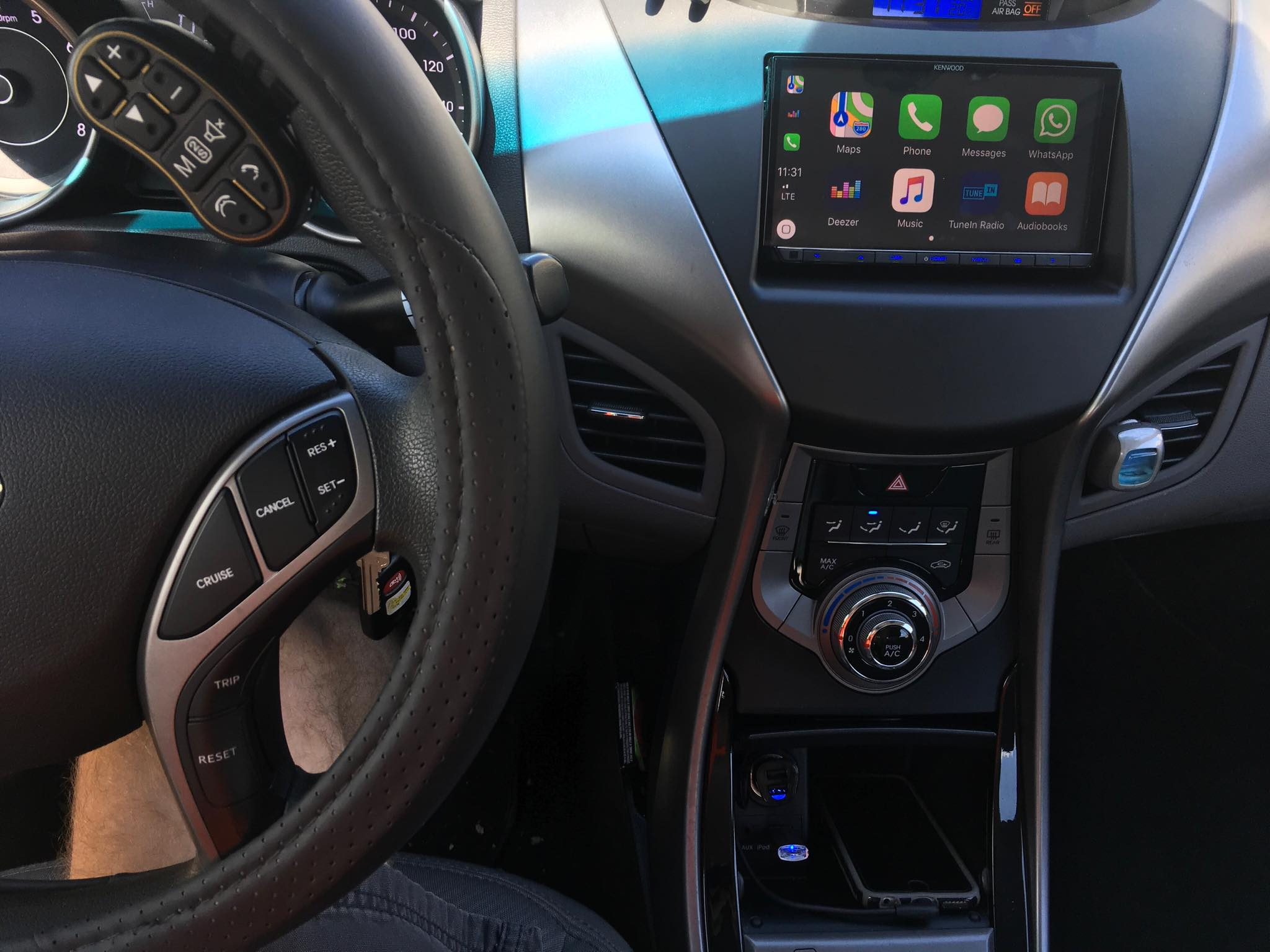 CarPlay Installs: Kenwood DDX-9704 in a 2013 Hyundai Elantra