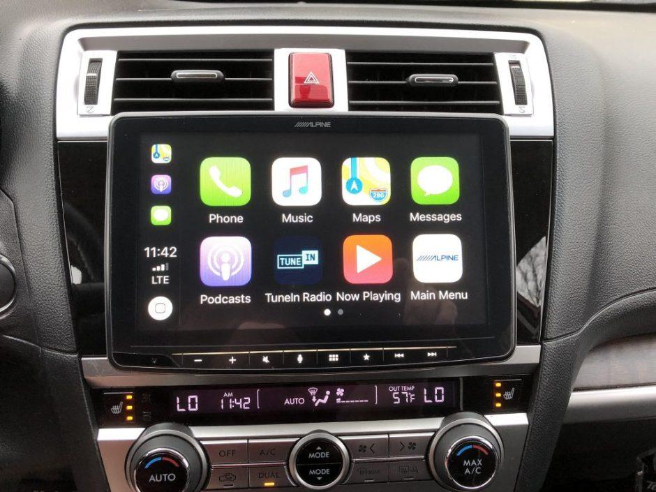 CarPlay Installs: Alpine iLX-F309 in a 2016 Subaru Outback