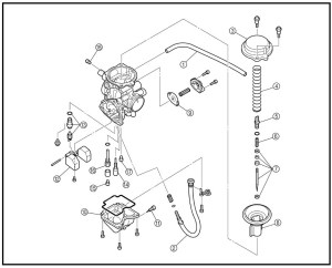 Yamaha Kodiak 400 Parts Diagram | Automotive Parts Diagram
