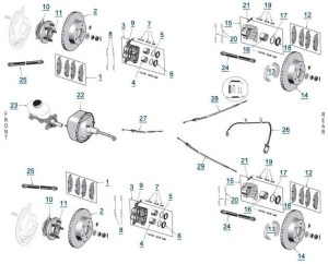 1999 Jeep Cherokee Parts Diagrams | Automotive Parts