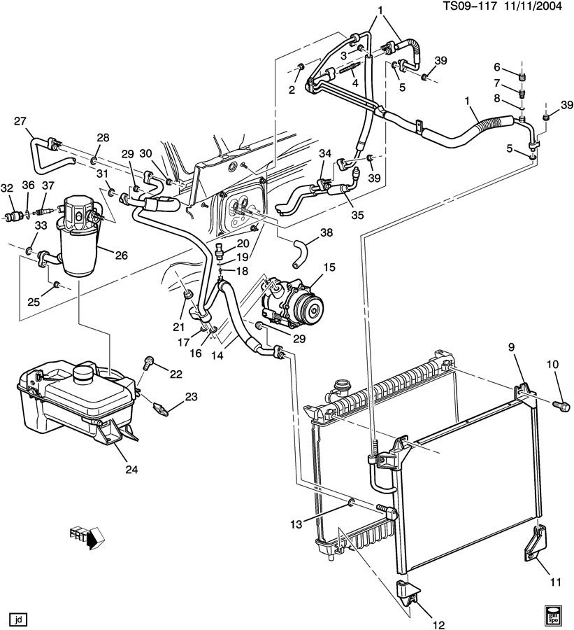 Intrnal 2003 Gmc Envoy Engine Diagram - Wiring Diagram G11 on