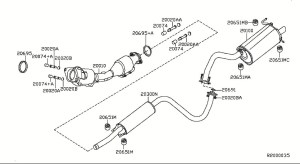 2008 Nissan Sentra Parts Diagram | Automotive Parts