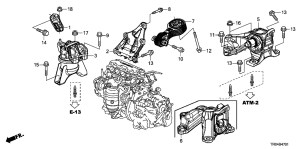 2012 Honda Civic Parts Diagram | Automotive Parts Diagram
