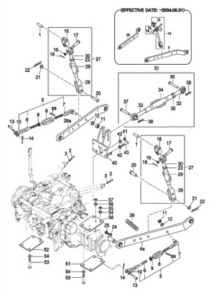 3 Point Tractor Parts Diagram   Tractor Parts Diagram And