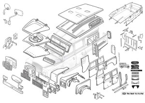 38 Best Series Land Rover Parts Images On Pinterest   Land Rovers regarding Land Rover Discovery