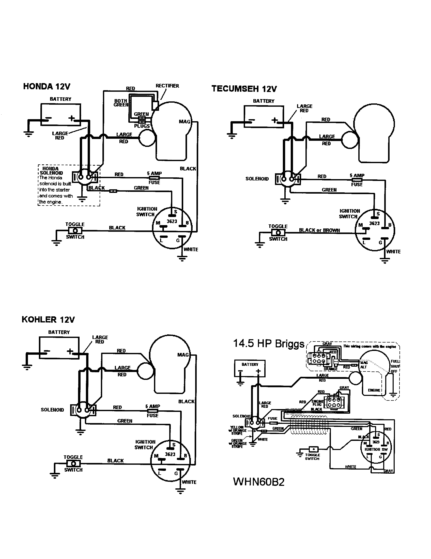Cub Cadet Wiring Diagram Index