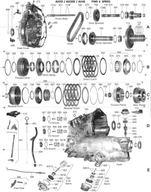 2008 Ford Escape Parts Diagram | Automotive Parts Diagram
