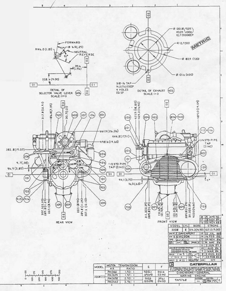 Diagram Caterpillar 3412 Wiring Diagram Diagram Schematic Circuit