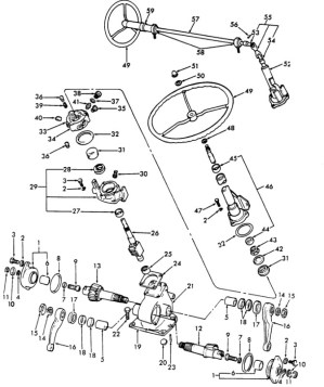 Ford 3000 Tractor Parts Diagram | Automotive Parts Diagram