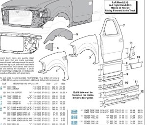 1997 Ford F150 Parts Diagram | Automotive Parts Diagram Images