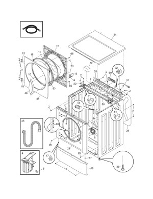 Frigidaire Front Load Washer Parts Diagram | Automotive