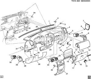 2005 Chevy Silverado Parts Diagram | Automotive Parts