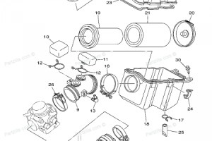 Yamaha Grizzly 600 Parts Diagram | Automotive Parts