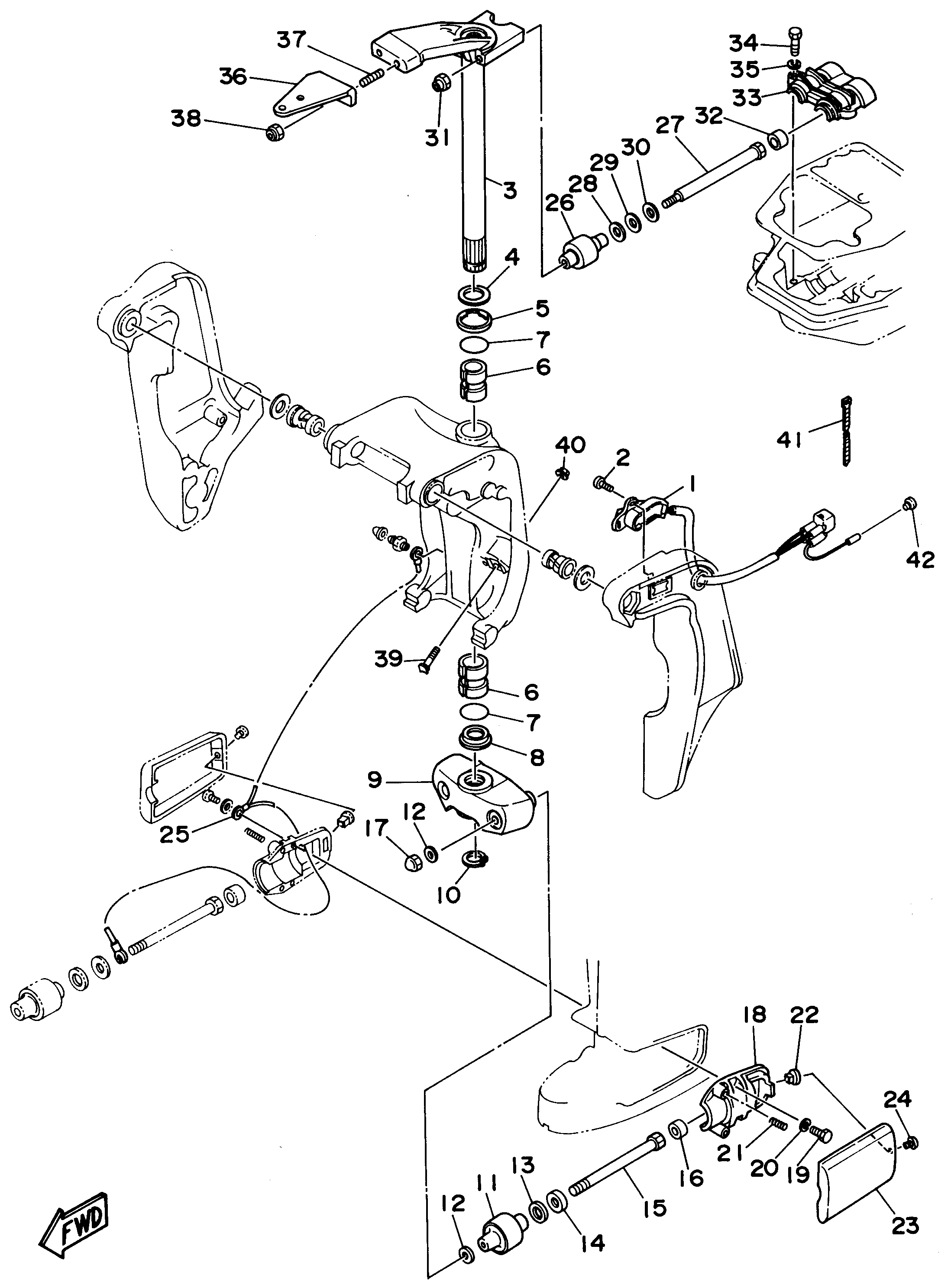 Hp Evinrude Wiring Diagram Hp Mercury Outboard Wiring Diagram 7 5 Hp