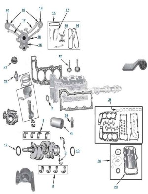 Jeep Liberty 37L Engine Parts | Free Shipping At 4Wd for