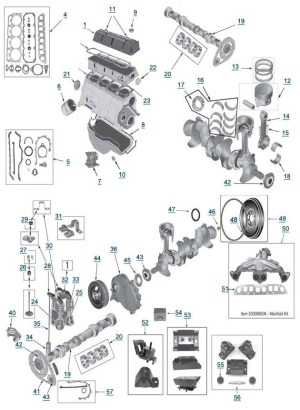 1997 Jeep Wrangler Parts Diagram | Automotive Parts