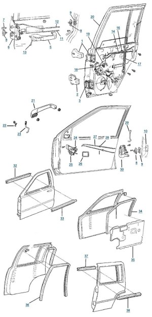 1999 Jeep Grand Cherokee Parts Diagram | Automotive Parts