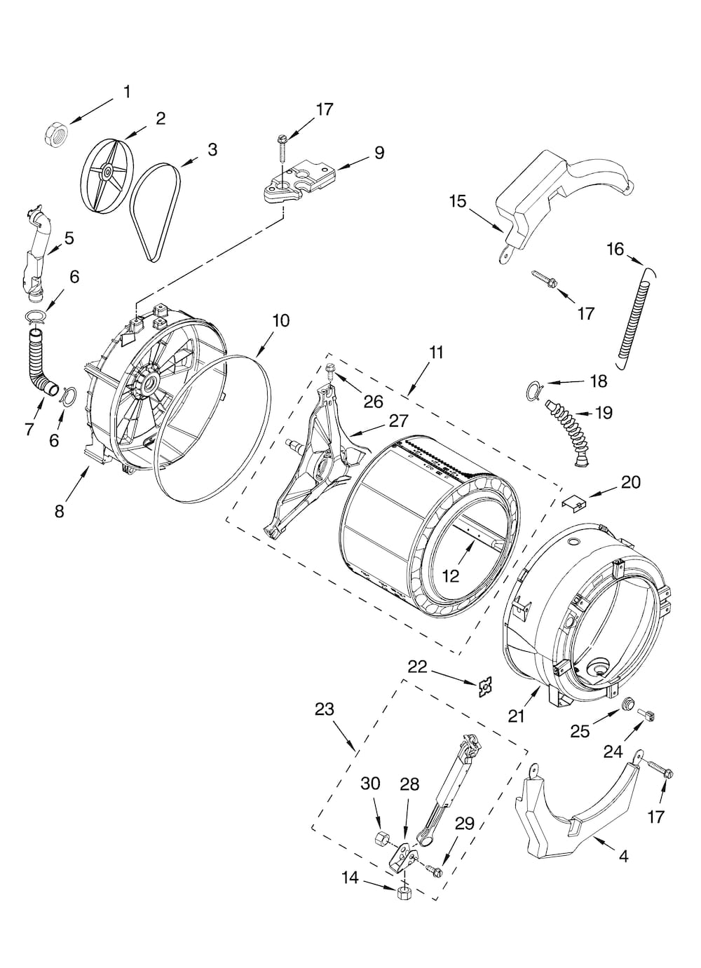 Kenmore Washer Parts