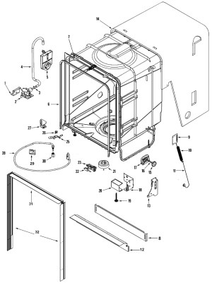 Maytag Quiet Series 300 Parts Diagram | Automotive Parts