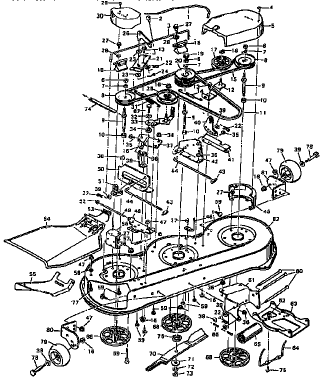 murray lawn tractor parts diagram Lawn Tractor Seat