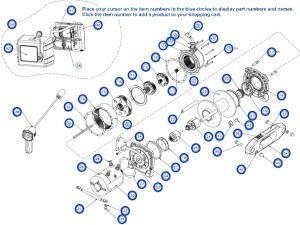 Warn Winch 2500 Parts Diagram | Automotive Parts Diagram