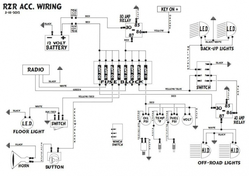 polaris ranger 700 xp wiring diagram kawasaki teryx 750 Polaris 500 HO Wiring-Diagram 2004 Polaris Sportsman 400 Wiring Diagram
