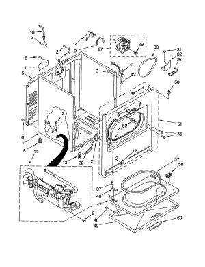 Kenmore 90 Series Dryer Parts Diagram | Automotive Parts